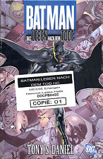 BATMAN: DAS LEBEN NACH DEM TODE HC  lim.222 Ex. VARIANT-HARDCOVER  Guillem March