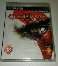 God OF WAR 3 (III) PS3 Nuovo Sigillato UK Pal Versione Game SONY Playstation 3