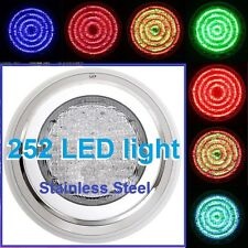 New Design Stainless Steel Swimming Pool Spa Wall 252 LED Lights RGB7 Colour*