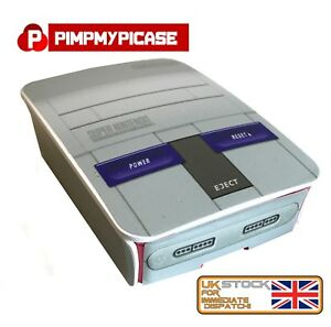 Raspberry Pi 3 case Retro gaming Super Nintendo USA style  (Retropie or Kodi)