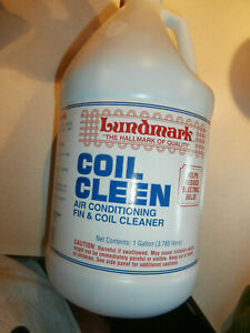 Lundmark COIL CLEEN 1 Gallon Air Conditioner Fin Cleaner Reduce Electric  aj