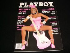 PLAYBOY MAGAZINE    RARE OCTOBER 1996   SAMANTHA FOX