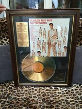 ELVIS PRESLEY GOLD RECORDS VOL 2 UK LIMITED 24 CARAT GOLD PLATED AUTHENTIC ALBUM