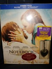 The Notebook Blu-ray/DVD, 2013 Limited Giftset Ultimate Edition Includes Locket!