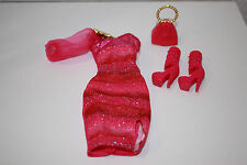 Barbie Fashionistas Pink Dress Fashion Outfit NO DOLL Fit Model Muse