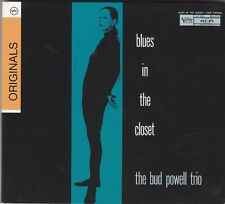 THE BUD POWELL TRIO - blues in the closet CD
