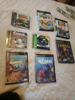 Playstation Ps1 Ps2 Games Lot Casper Hobbit Nemo Jungle Book Dukes Hazzard