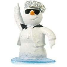 Hallmark Keepsake Ornament 2014 Disco Inferno Snowman-Magic Sound NIB