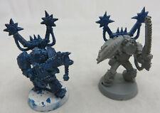 Warhammer Chaos Marine blister Noise Marine w/ Blastmaster + Doom Siren lot