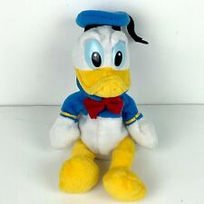 "Walt Disney World Donald Duck Plush Stuffed Animal Vintage Disneyland 9"" HTF"