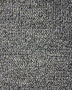 Gunmetal Indoor Outdoor Level Loop Area Rug Carpet