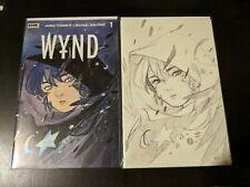 Wynd #1 Peach Momoko Trade & Sketch Cover Variant NM+ Comic!