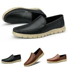 Mens Leisure Loafers Shoes Driving Moccasins Pumps Slip on Comfy Breathable 44 L
