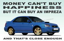 Subaru Impreza WRX STi Art illustration Novelty Fridge Magnet gift idea
