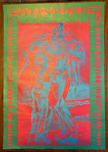 OTIS RUSH Concert Poster 1967 Neon Rose 8 Moscoso Psychedelic San Francisco