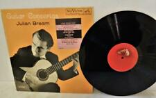 JULIAN BREAM GUITAR CONCERTOS  RCA LMVery 2487 LP VINYL WITH STICKER