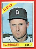 1966 Topps #429 Bill Monbouquette EX-EXMINT+ MARKED Detroit Tigers FREE SHIPPING