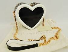 Stella McCartney Heart Shoulder Bag Black/white Falabella RRP790GBP Perfect Gift