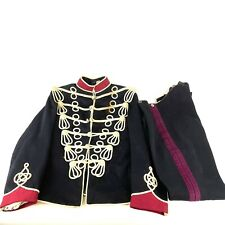 Early 20th Century Queens Own Oxfordshire Hussars Dress Tunic & Trousers A/F