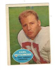 1960 Topps Carl Brettschneider #109 St. Louis Cardinals