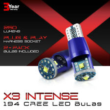 """SUPREME CREE CHIPS"" 2X 168 194 921 T10 T15 LED Reverse Back Up Light Bulbs Pair"