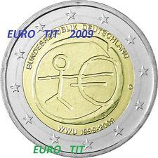 2  €   ALLEMAGNE    1   x   PIECE  NEUVE   ANNIVERSAIRE   2009   /   ASSEZ  RARE