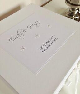 Large Luxury Personalised Wedding Engagement Birthday Keepsake Memory Box Gift