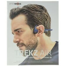 Aftershokz Trekz Air Bone Conduction Bluetooth Headphones Blue *DUTY ZERO