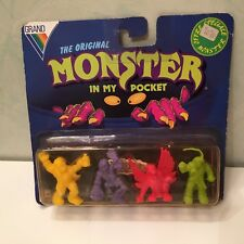 4 Pack figurine figure Blister Mimp Monster in my Pocket 05