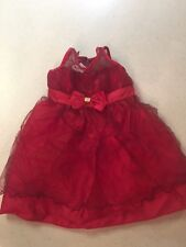 LA Princess Red Dress Girls 3T