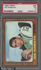 1966 Topps Football #96 Joe Namath New York Jets HOF PSA 5 EX