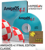 AmigaOS 4.1 Final Edition for Classic and Amiga Forever 8 Plus Edition bundle