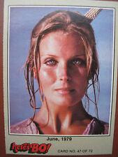 1981 HERE'S BO Derek 72 Cards Fleer Set Tarzan Movie The Perfect 10