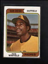 1974 TOPPS #456 DAVE WINFIELD ROOKIE RC VG-EX D935