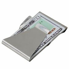Slim Clip Double Sided Money Clip and Credit Card Holder Wallet