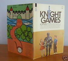 KNIGHT GAMES For Kids by Will Moss, Card Games etc 1967