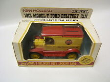 Ertl 1913 Model T Ford Delivery Van Bank New Holland