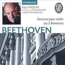 BEETHOVEN: CONCERTO POUR VIOLON; LES 2 ROMANCES NEW CD