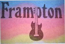 VINTAGE 70's FRAMPTON IRON ON T-SHIRT TRANSFER