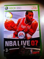 NBA LIVE 07  XBOX360 FIRST RELEASE SEALED  SIGILLATO