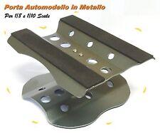 Porta Automodello girevole a scatto 360° rotazione  in Metallo per 1/8 e 1/10