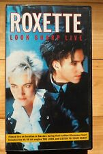 Roxette - Look Sharp Live -VHS