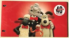 Wallace & Gromit Aardman - lot enveloppe 1er jour 8 timbres + 8 timbres neufs