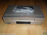 Clatronic VCR 598 6-Head VHS-Videorecorder, inkl. FB, 2 Jahre Garantie