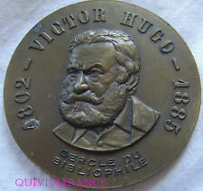 MED6047 - MEDAILLE VICTOR HUGO - CERCLE DU BIBLIOPHILE