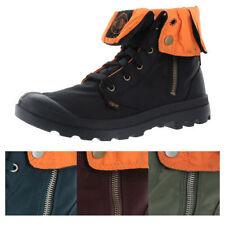 Men's Zip Combat Synthetic Boots