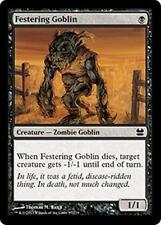 FESTERING GOBLIN Modern Masters 2013 MTG Black Creature—Zombie Goblin Com