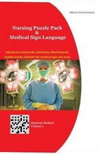 Nursing Puzzle Pack and Medical Sign Language (Question Booklet) : Advanced...