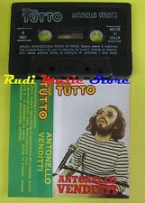 MC ANTONELLO VENDITTI promo TUTTO italy 1987  no cd lp dvd vhs