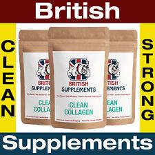 Clean Marine Collagen Type I Beauty Veg Caps British supplements 3 Month Supply